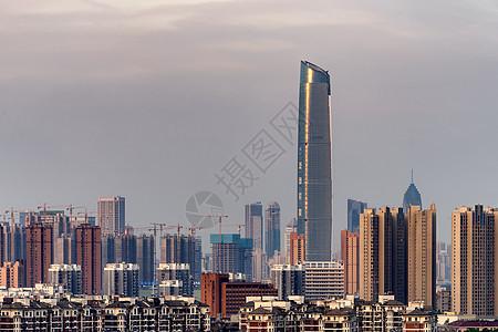 远眺CBD武汉中心图片