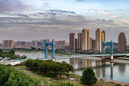 武汉古田桥风景图片