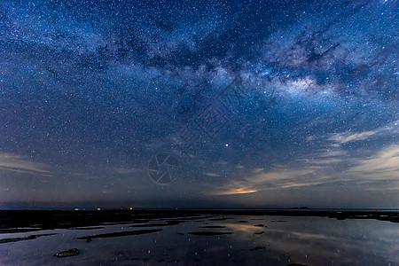 涠洲岛的银河图片