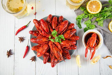 美食小龙虾图片
