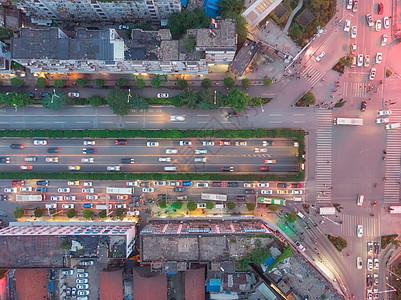 俯瞰城市立体交通图片