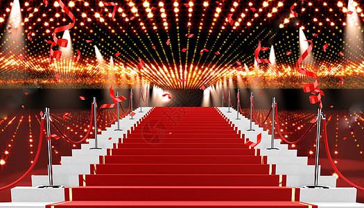 颁奖红毯图片