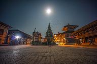 尼泊尔的东方建筑图片