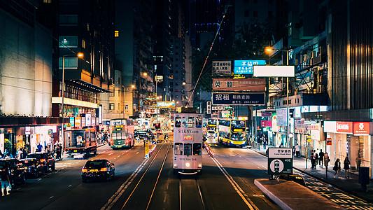 香港旅游夜景图片