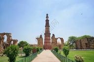 印度德里地标顾特卜塔图片