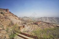 印度地标建筑琥珀堡图片