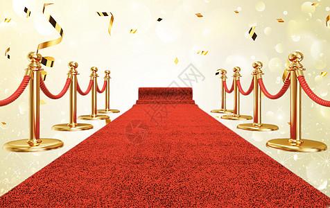 红毯颁奖背景海报图片