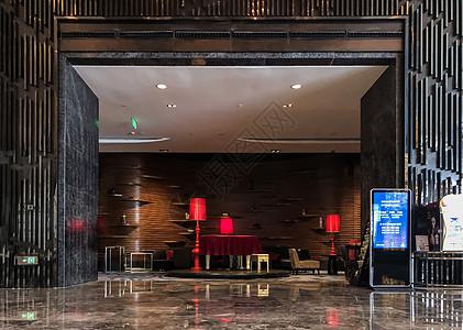 酒店大堂的装潢图片