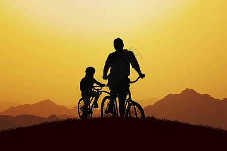 父亲与儿子图片