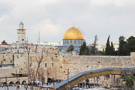 以色列耶路撒冷圆顶清真寺图片