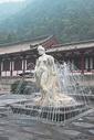 陕西西安华清池杨贵妃雕像图片