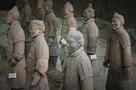 陕西西安兵马俑图片