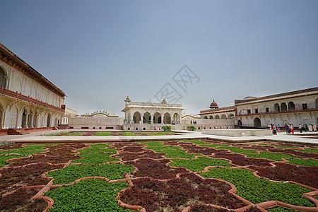 印度阿格拉堡印度地标阿格拉地标图片
