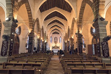 涠洲岛天主教堂图片