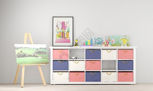 室内儿童家居背景图片
