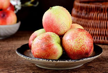 水果桃子图片