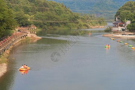 安徽秋浦河漂流图片