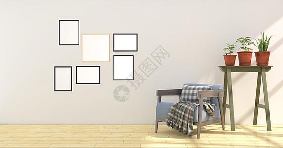 室内沙发椅背景图片