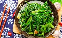 蒜香菠菜图片