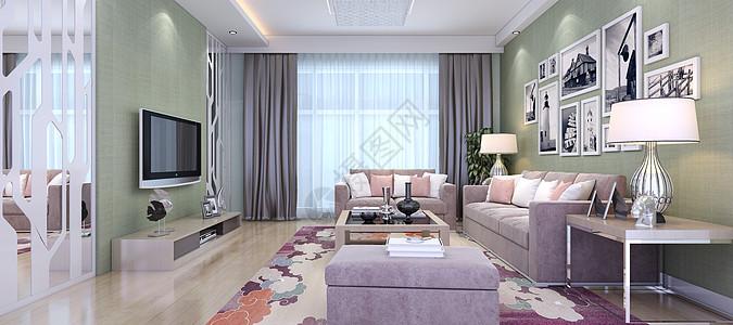 客厅背景图片