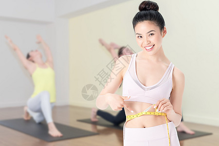 瑜伽减肥图片
