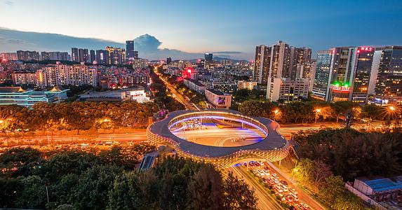 深圳南山·春花天桥图片