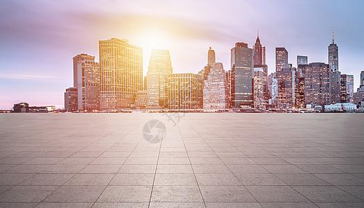 城市路面背景图片