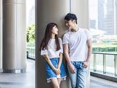 情侣旅游上海图片