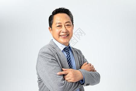 微笑的老板图片