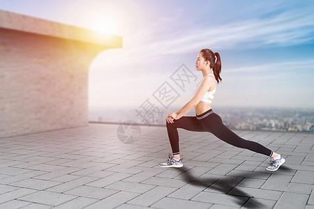 户外健身图片