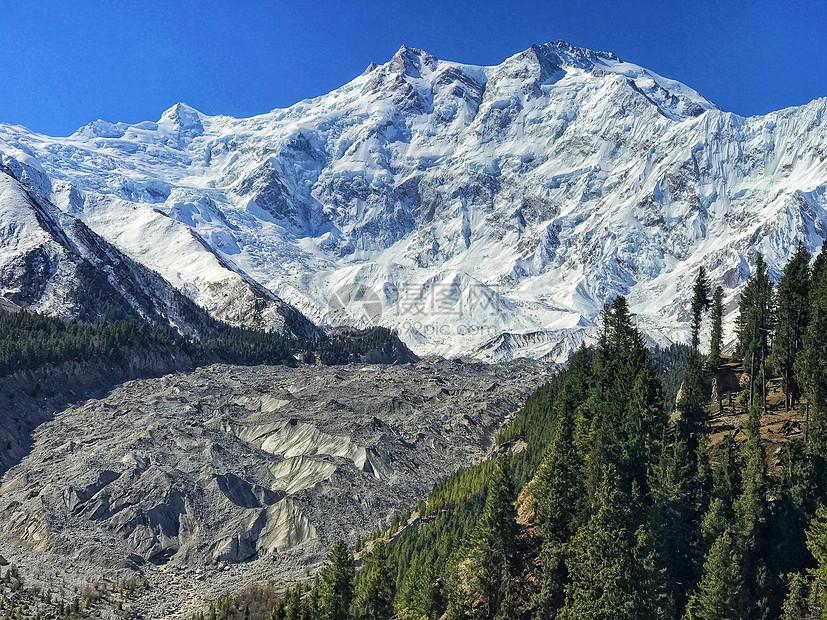 新疆帕米尔高原雪山图片
