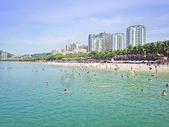 海南三亚大东海浴场图片