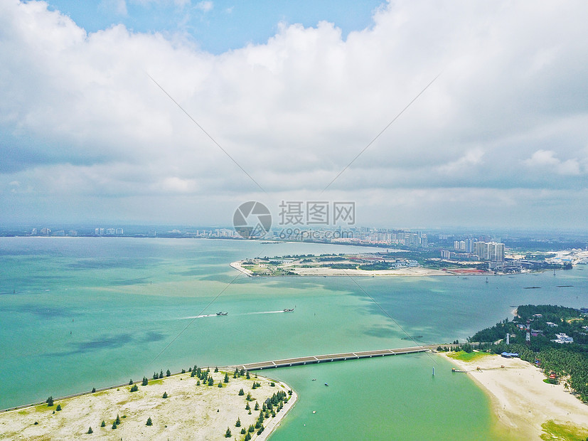 海南东郊椰林图片