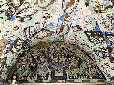 克孜尔石窟壁画图片