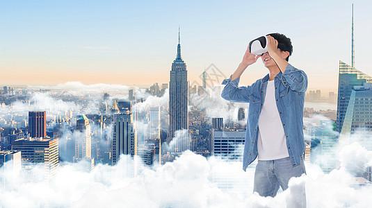 VR科技现实场景图片