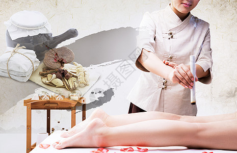 中医养生背景图片