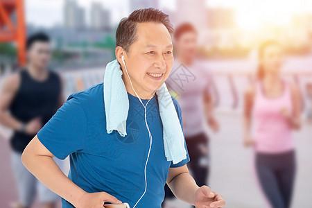 老年健身图片