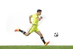 足球动作图片