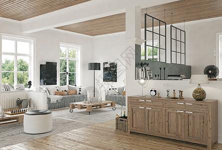 现代客厅家居图片