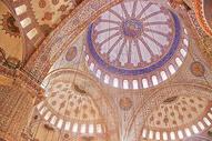 土耳其伊斯坦布尔蓝色清真寺图片