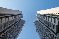 城市中的高楼大厦图片
