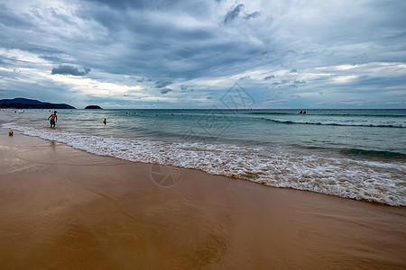 广西北海涠洲岛海滩风景图片