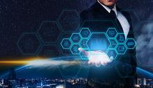 城市信息科技图片