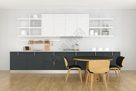 现代家居厨房图片