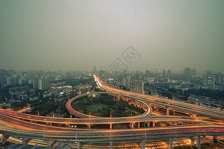 上海城市立体交通图片