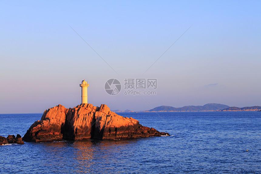 浙江舟山东极岛日出图片