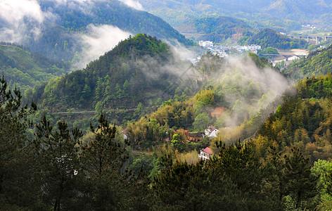 云山雾绕图片