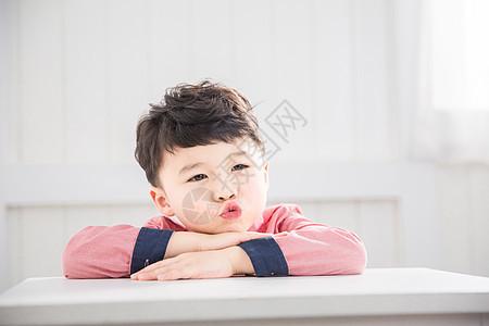 儿童节小男孩美好的童年图片
