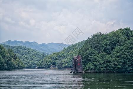 武汉木兰天池湖景图片