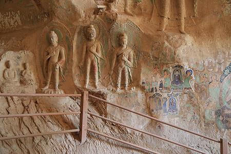 炳灵寺石窟图片